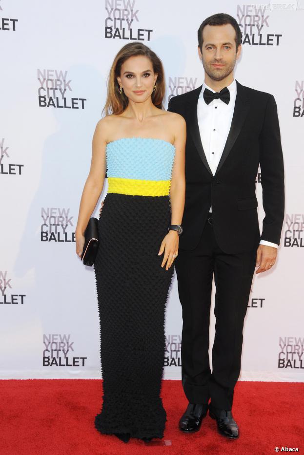 Natalie Portman et Benjamin Millepied radieux à la soirée du New York City Ballet