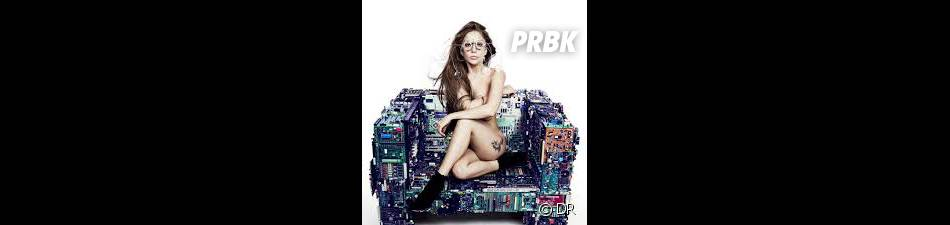 Lady Gaga nue pour son album ARTPOP