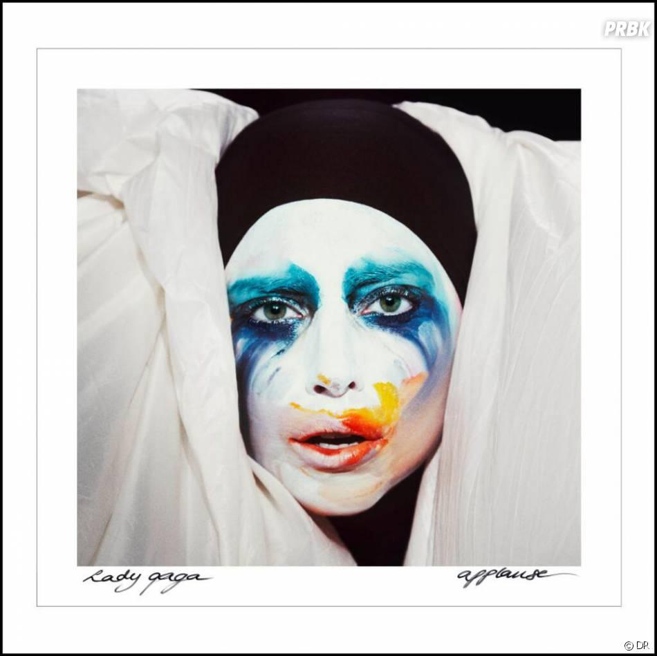 Applause : la pochette du dernier single de Lady Gaga