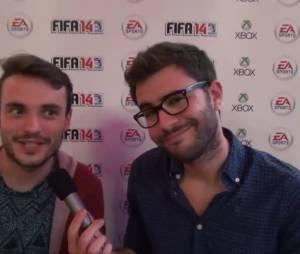 FIFA 14 : les impressions de La Ferme Jerome, Cyprien, Orelsan et Michael Youn