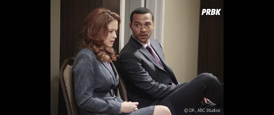 Grey's Anatomy saison 10 : plus d'espoir pour April et Jackson ?