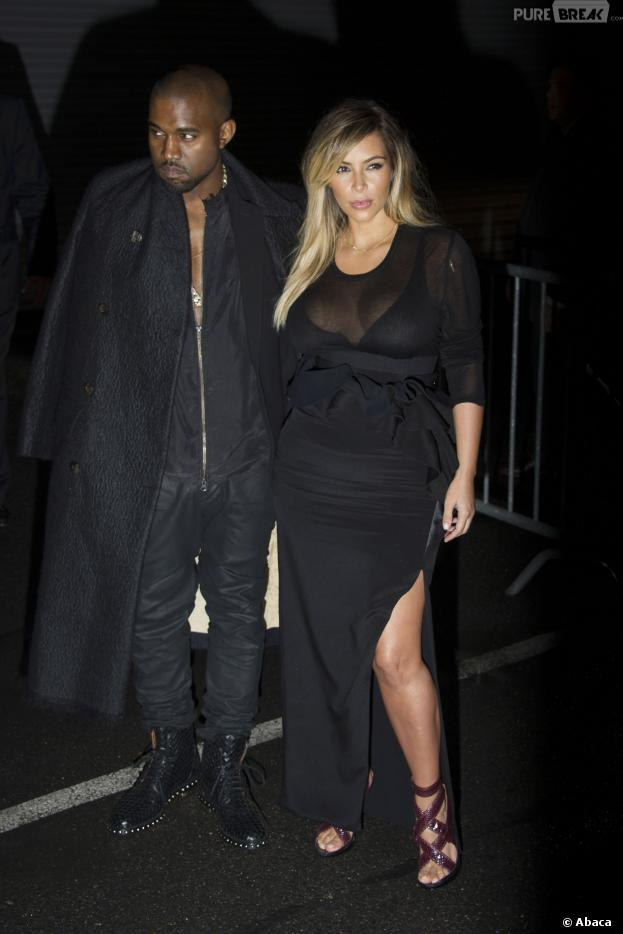 Kim Kardashian : décolleté plongeant pour la Fashion Week de Paris