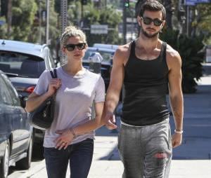 Ashley Greene en compagnie de Paul Khoury, son nouveau petit ami, le 29 septembre 2013 à Los Angeles