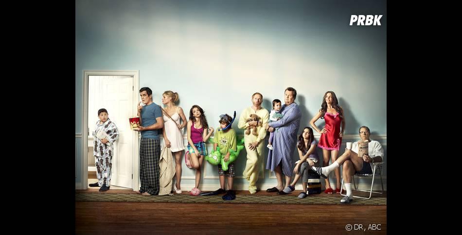 Barack Obama regarde Modern Family avec ses filles