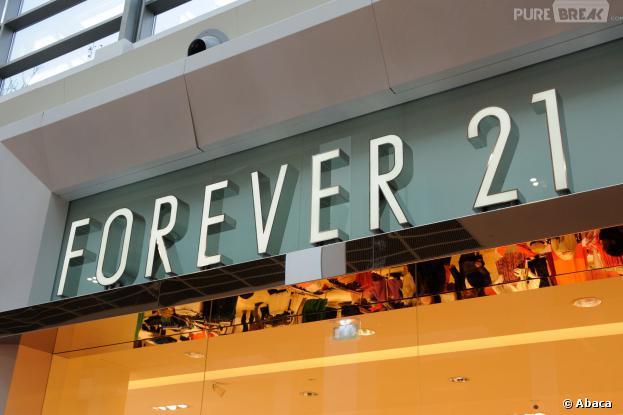 Forever 21 s'installe au 144 rue de Rivoli, le 26 octobre 2013