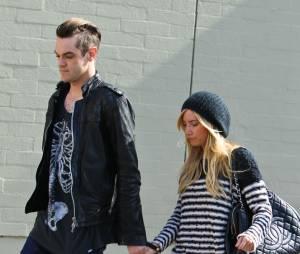 Ashley Tisdale avecChristopher French, son fiancé