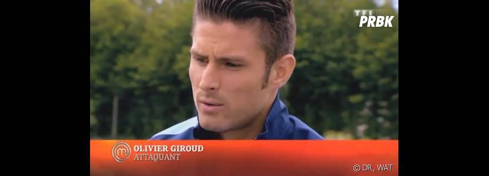 Masterchef 2013 : Olivier Giroud en mode critique culinaire.