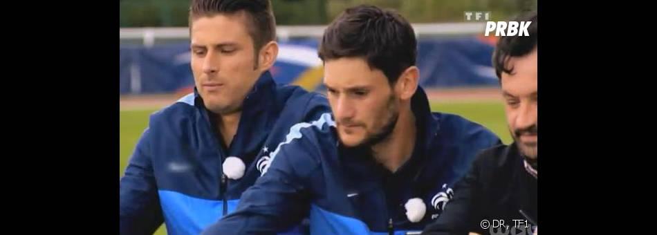 Masterchef 2013 : l'équipe de France de football testent les plats des candidats.