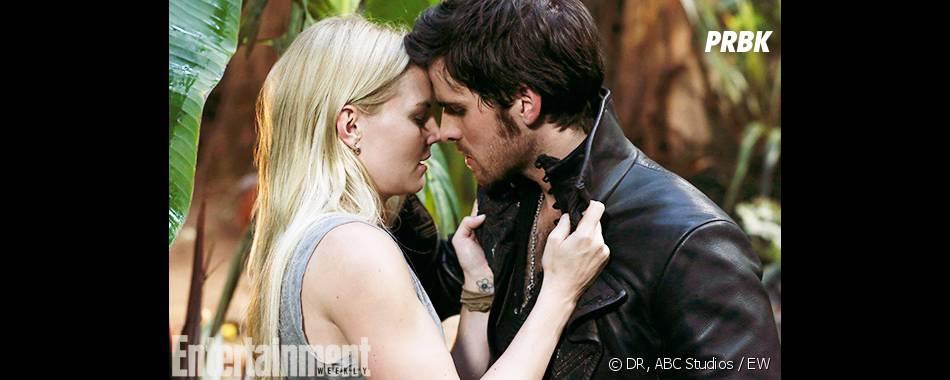 Once Upon a Time saison 3, épisode 5 : premier baiser entre Hook et Emma