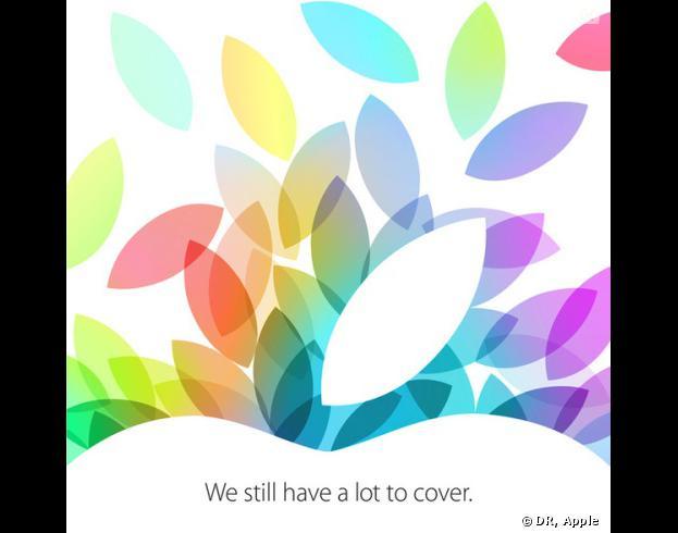 Apple organise une keynote le 22 octobre 2013. Elle serait dédiée aux nouveaux iPad.