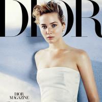 Jennifer Lawrence au naturel pour Dior Magazine