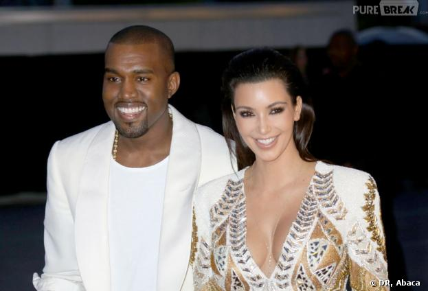 Kim Kardashian et Kanye West fiancés
