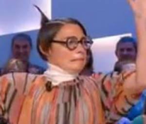 Alessandra Sublet déguisée pour Le Grand Journal