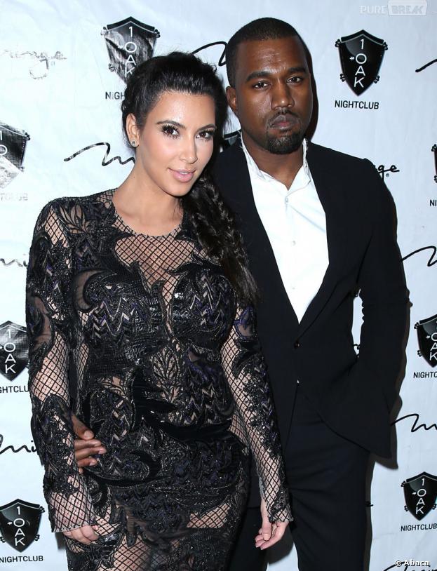 Kim Kardashian et Kanye West : le rappeur prêt à réaliser la robe de mariée