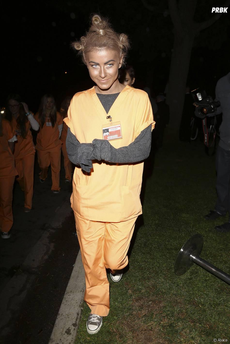 Julianne Hough a fait polémique avec son costume de Suzanne, le personnage d'Orange Is The New Black
