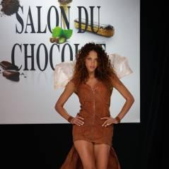 Dounia Coesens, Noémie Lenoir, Marion Bartoli... le défilé chaud cacao