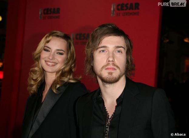 Julien Doré et Louise Bourgoin en février 2008