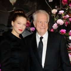 Léa Seydoux, Yoann Fréget... illumination de stars pour les Galeries Lafayette Haussman
