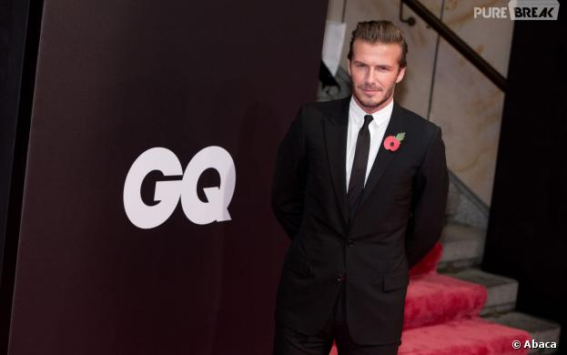 David Beckham : élu homme le plus stylé de l'année par GQ le 7 novembre 2013