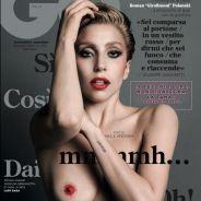 Lady Gaga, après ses fesses, ses seins : téton maquillé en Une du GQ italien