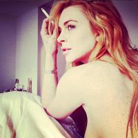 Lindsay Lohan topless sur Instagram : nouvelle image pour une nouvelle vie ?