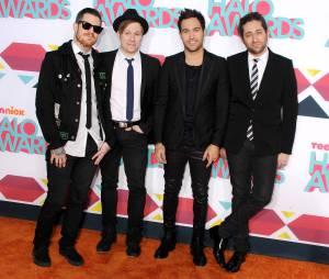 Fall Out Boy aux HALO Awards le 17 novembre 2013 à Los Angeles