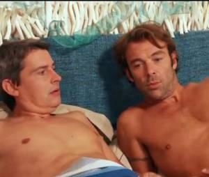 Les Mystères de l'amour : Patrick Puydebat dans le lit avec José