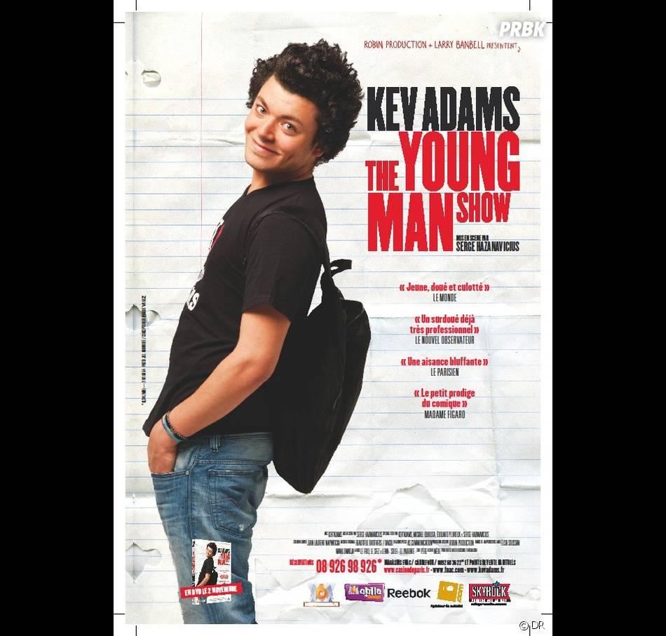 """Kev Adams : après """"The Young Man Show"""", il est de retour sur scène avec son nouveau spectacle """"Voilà voilà"""""""