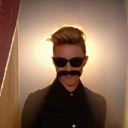 Dianna Agron moustachue dans un clip pour The Killers
