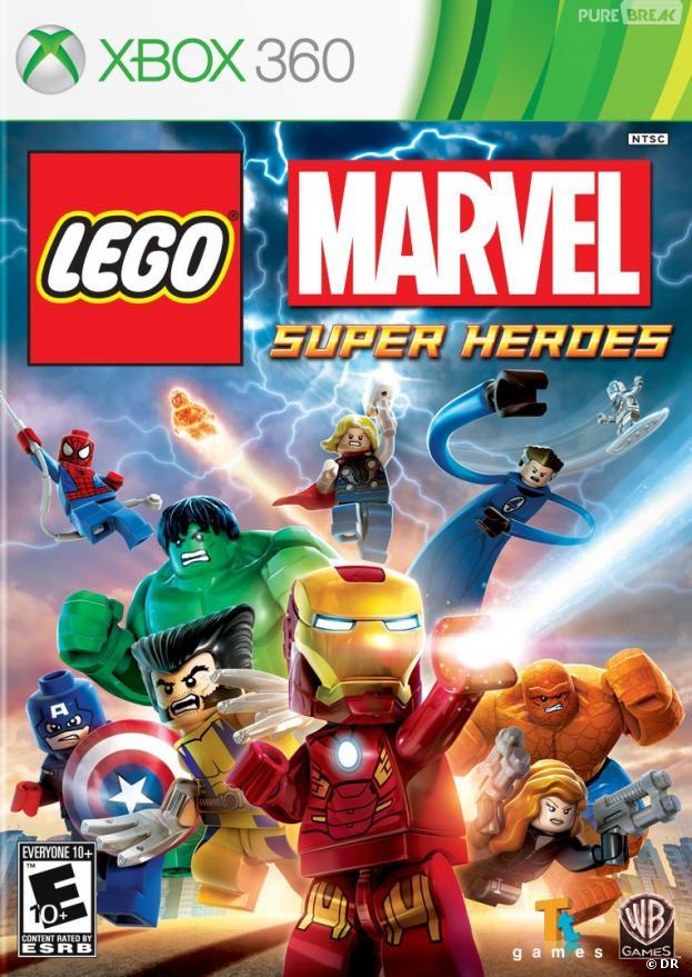 LEGO Marvel Super Heros sur Xbox 360