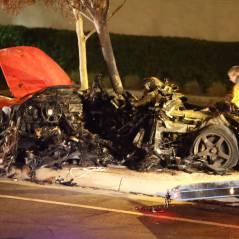Paul Walker mort : les photos chocs de l'accident, les célébrités traumatisées