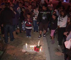 Des fans de Paul Walker se sont rendus sur les lieux de l'accident de voiture pour rendre hommage à l'acteur