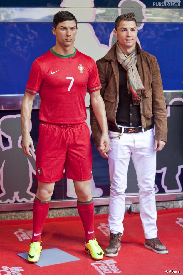 Cristiano Ronaldo : statue de cire dévoilée à Madrid, le 7 décembre 2013