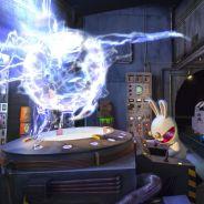 La nouvelle attraction des Lapins Crétins crée la panique au Futuroscope