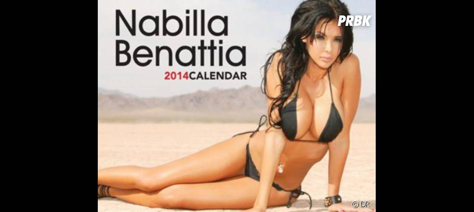 Nabilla Benattia a posé pour un calendrier 2014 sexy commercialisé sur Internet.