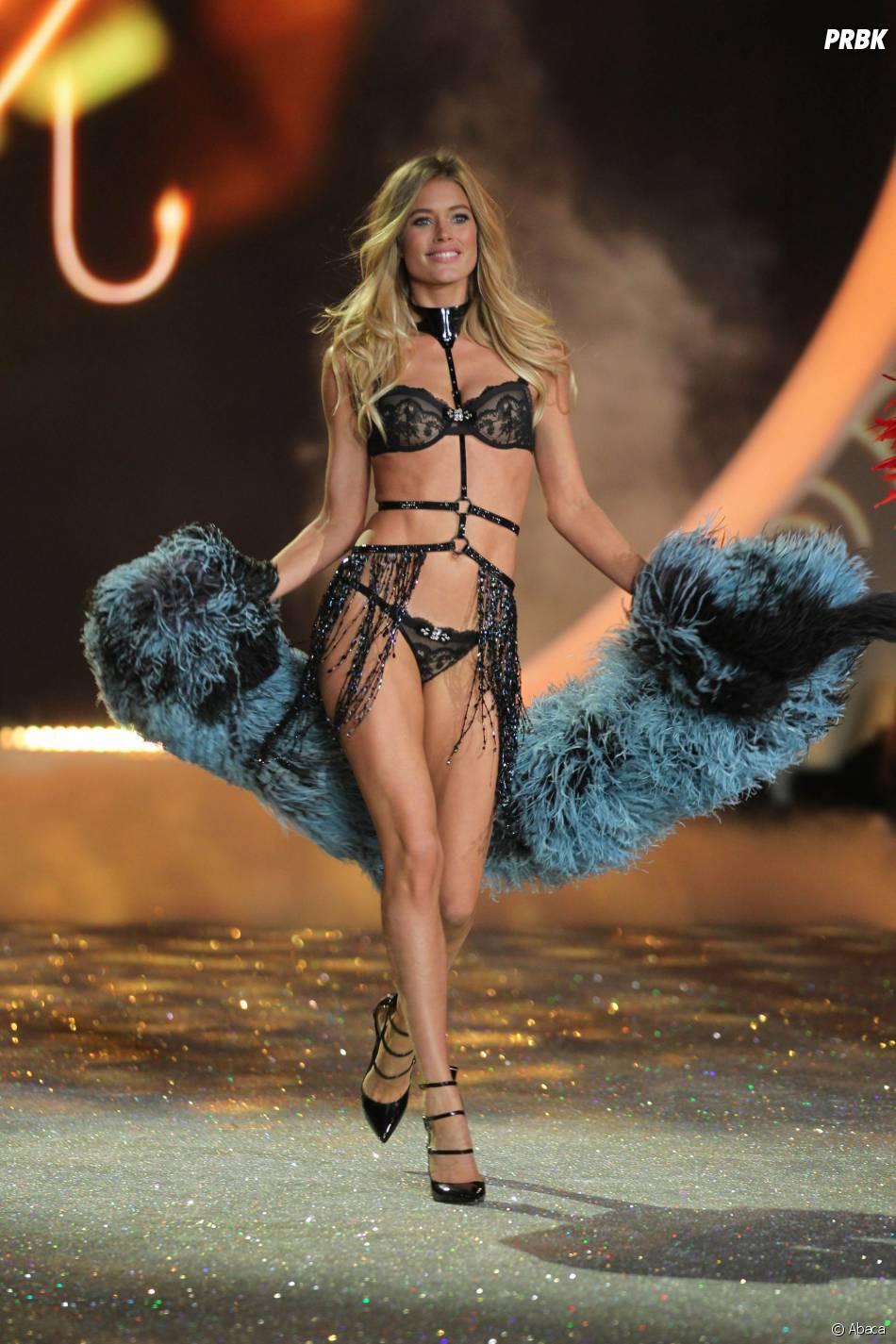 Victoria's Secret : les Anges en tenues sexy pour le défilé annuel