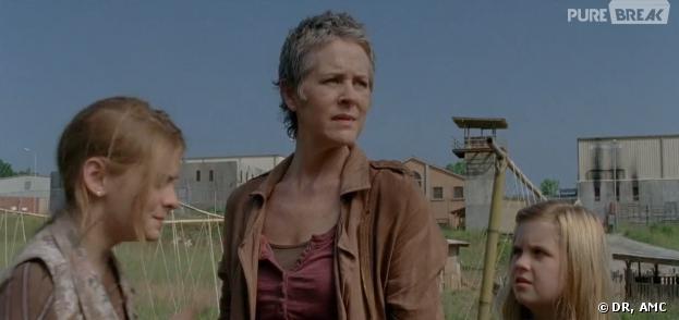 The Walking Dead saison 4 : Carol innocente, Lizzie coupable ?