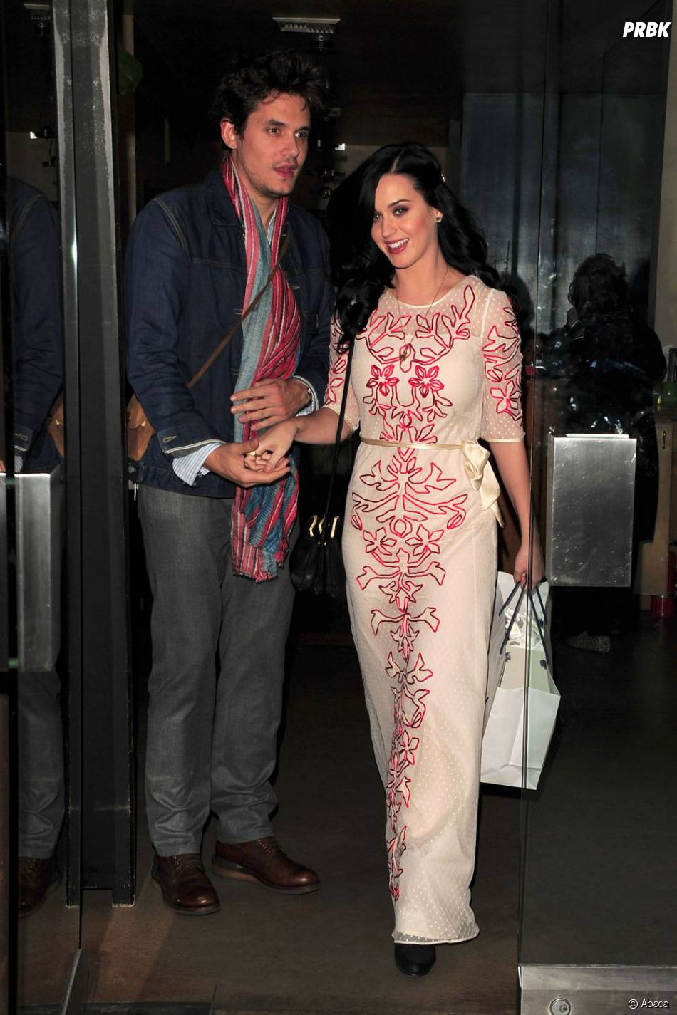 Katy Perry : John Mayer a remplacé Russell Brand