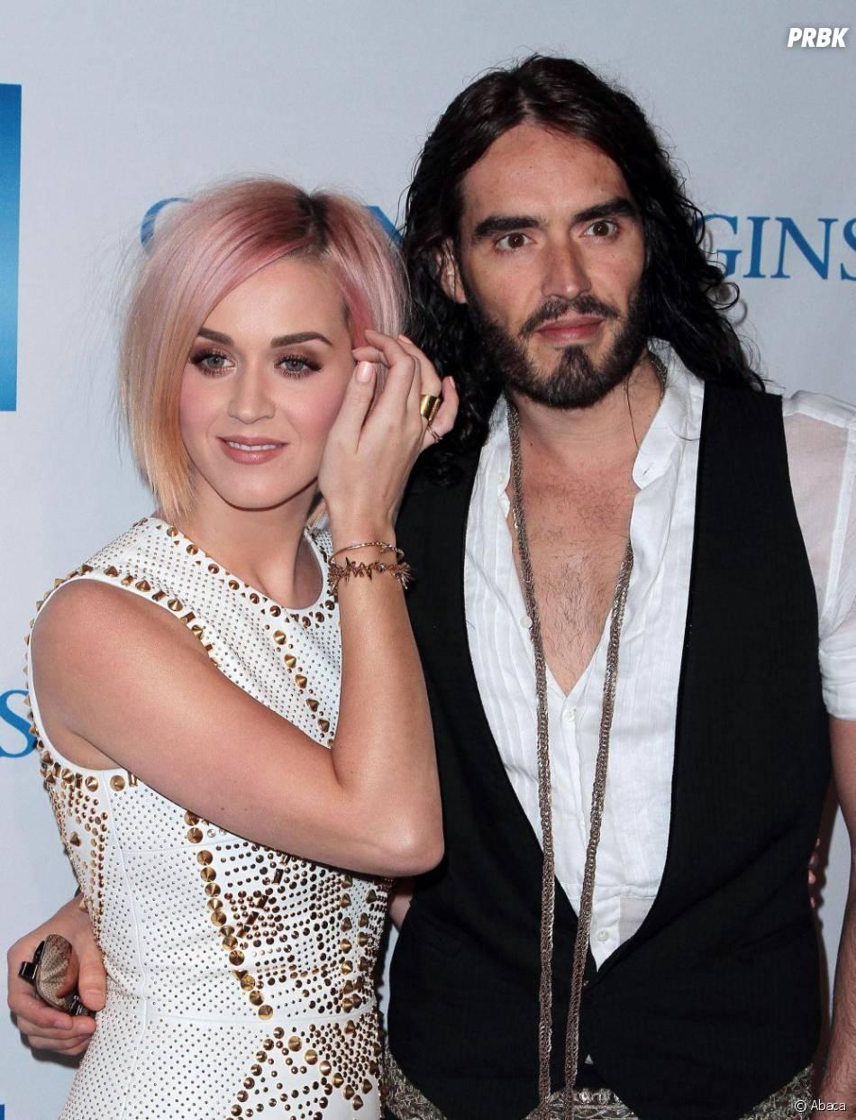 Katy Perry et Russel Brand : séparation en décembre 2011