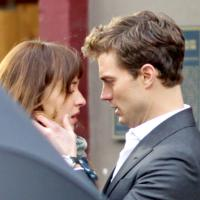 Fifty Shades of Grey : nouvelles photos du tournage avec Jamie Dornan et Dakota Johnson