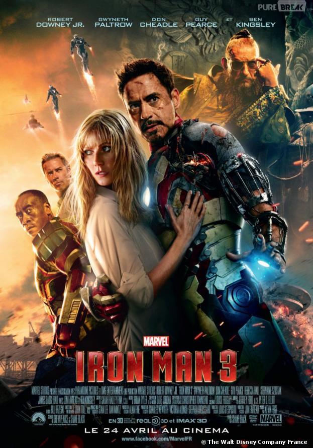 Les films qui ont cartonné au box-office en 2013 : Iron Man 3