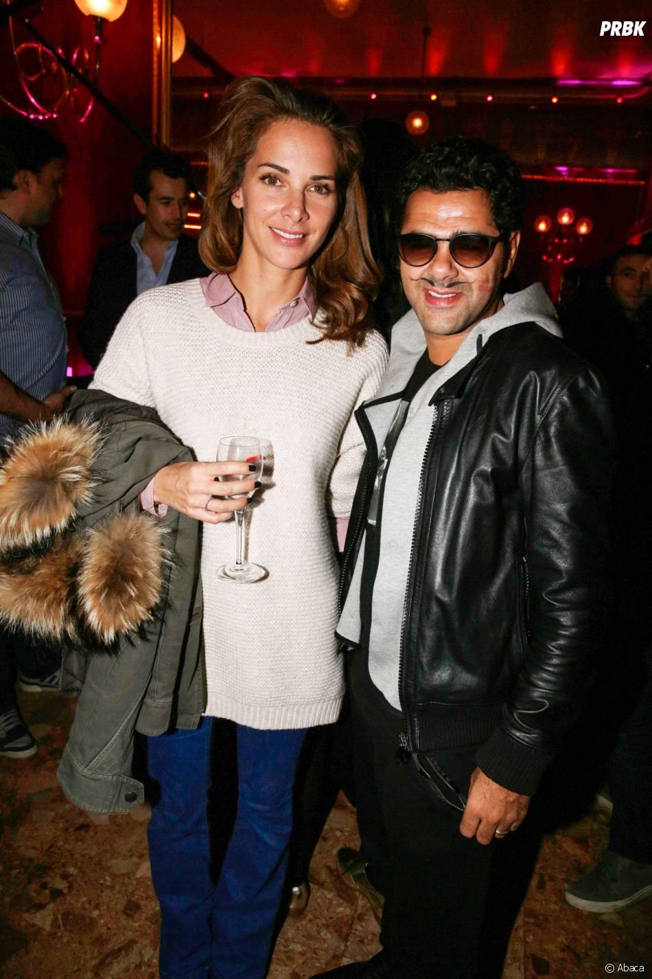 Jamel Debbouze et Mélissa Theuriau au Prix Fooding 2014 au Cirque d'hiver, le 25 novembre 2013