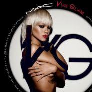 Rihanna : topless et glamour pour Viva Glam