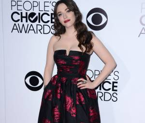 People's Choice Awards 2014 : Kat Dennings sur le tapis-rouge le 8 janvier 2014 à Los Angeles