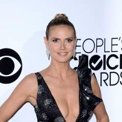Heidi Klum, Nina Dobrev... : décolletés VS tenues sages aux People's Choice Awards 2014