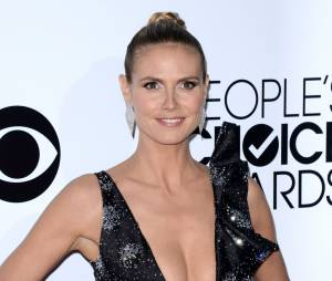 People's Choice Awards 2014 : Heidi Klum sur le tapis-rouge le 8 janvier 2014 à Los Angeles