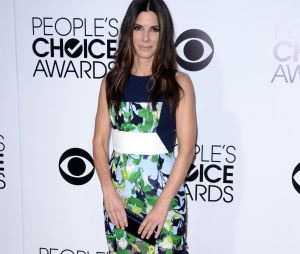 People's Choice Awards 2014 : Sandra Bullock sur le tapis-rouge le 8 janvier 2014 à Los Angeles
