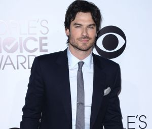 People's Choice Awards 2014 : Ian Somerhalder beau-gosse sur le tapis-rouge le 8 janvier 2014 à Los Angeles