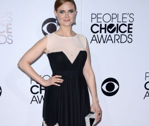People's Choice Awards 2014 : Emily Deschanel sur le tapis-rouge le 8 janvier 2014 à Los Angeles