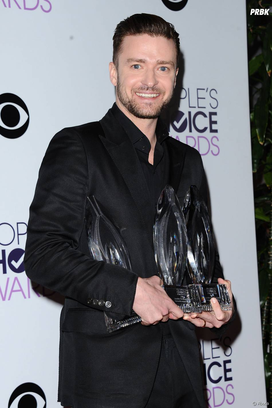 People's Choice Awards 2014 : Justin Timberlake sur le tapis-rouge le 8 janvier 2014 à Los Angeles